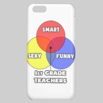 Venn Diagram .. 1st Grade Teachers iPhone 5C Case