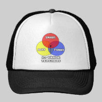 Venn Diagram .. 1st Grade Teachers Mesh Hat