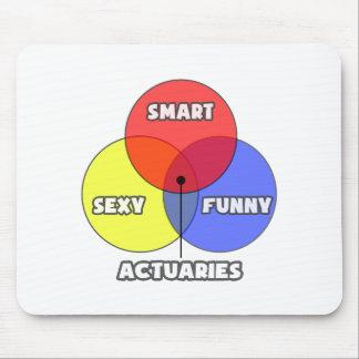 Venn Diagram .. Actuaries Mouse Pad