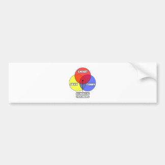 Venn Diagram .. Athletic Trainers Bumper Sticker