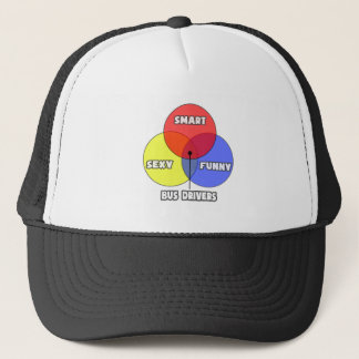 Venn Diagram .. Bus Drivers Trucker Hat