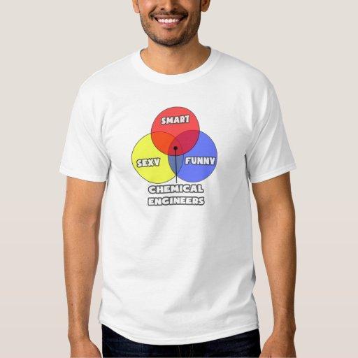 Venn Diagram .. Chemical Engineers T-shirts
