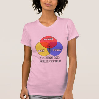 Venn Diagram .. Clinical Laboratory Technologists T-Shirt