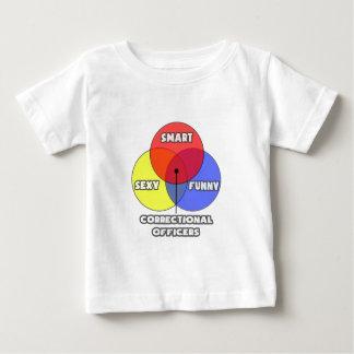 Venn Diagram .. Correctional Officers Baby T-Shirt