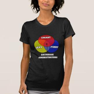 Venn Diagram .. Database Administrators T Shirt