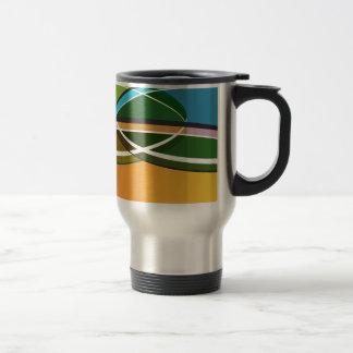 Venn Diagram Financial Business Icon Travel Mug