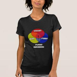 Venn Diagram .. Flight Engineers T Shirt