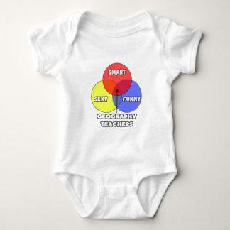 Venn Diagram .. Geography Teachers Baby Bodysuit