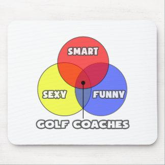 Venn Diagram .. Golf Coaches Mouse Pads