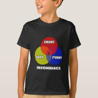 Venn Diagram .. Insomniacs T-Shirt