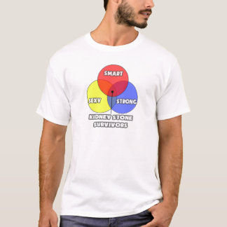 Venn Diagram .. Kidney Stone Survivors T-Shirt