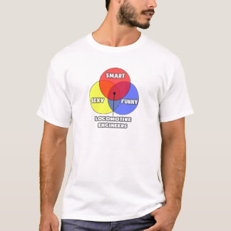 Venn Diagram .. Locomotive Engineers T-Shirt