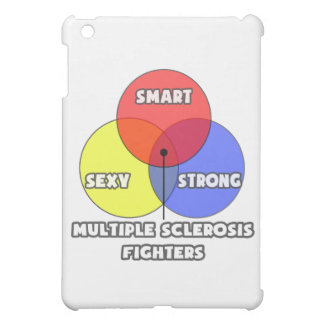 Venn Diagram .. Multiple Sclerosis Fighters iPad Mini Cover