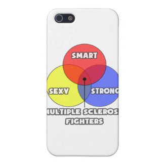 Venn Diagram .. Multiple Sclerosis Fighters iPhone 5 Covers