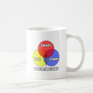 Venn Diagram .. Obstetricians Coffee Mug