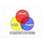 Venn Diagram .. Ophthalmologists Post Card