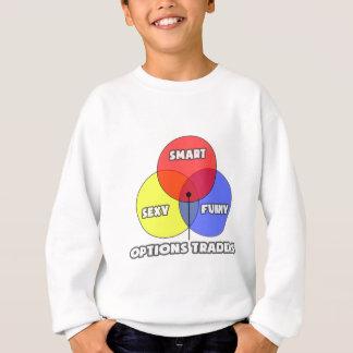 Venn Diagram .. Options Traders Sweatshirt