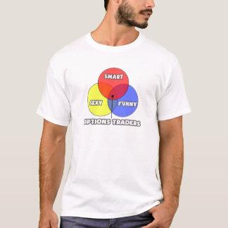 Venn Diagram .. Options Traders T-Shirt