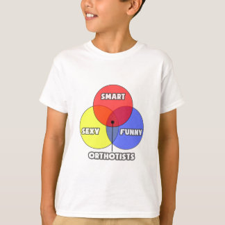 Venn Diagram .. Orthotists T-Shirt