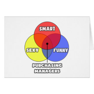 Venn Diagram .. Purchasing Managers Card