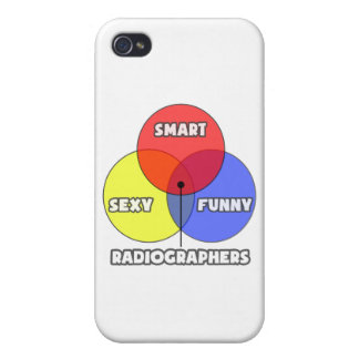 Venn Diagram .. Radiographers iPhone 4 Covers