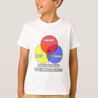 Venn Diagram .. Radiologic Technologists T-Shirt