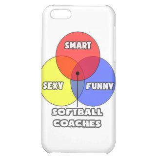 Venn Diagram .. Softball Coaches iPhone 5C Case