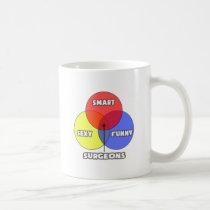 Venn Diagram .. Surgeons Classic White Coffee Mug