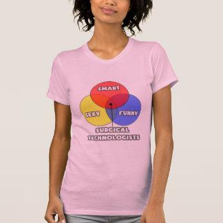 Venn Diagram .. Surgical Technologists T-shirt