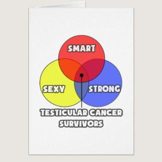Venn Diagram .. Testicular Cancer Survivors Card