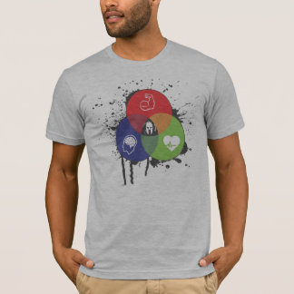 Venn Diagram Trifecta Tee