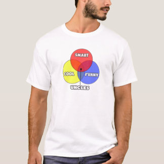Venn Diagram .. Uncles T-Shirt