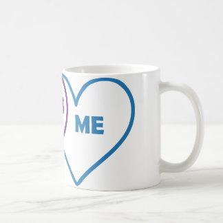 Venn Diagram Valentine - You Me Us Coffee Mug