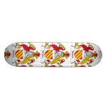 Venner Family Crest Custom Skateboard
