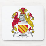 Venner Family Crest Mouse Pad