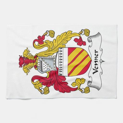Venner Family Crest Towels