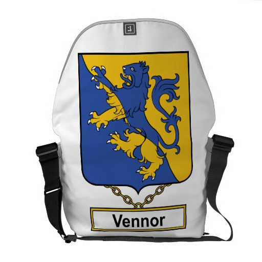 Vennor Family Crest Courier Bags