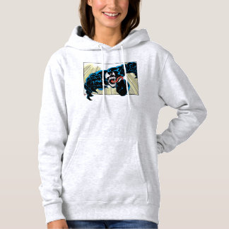 Venom Air Attack Comic Panel Hoodie