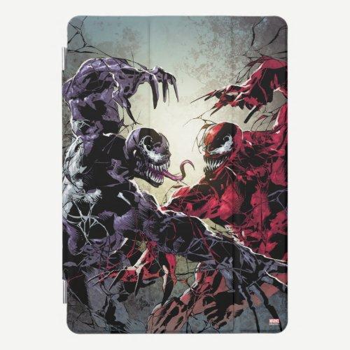 Venom and Carnage Mirror Fight iPad Pro Cover