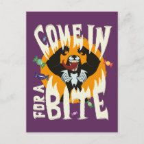 """Venom """"Come In For A Bite"""" Postcard"""
