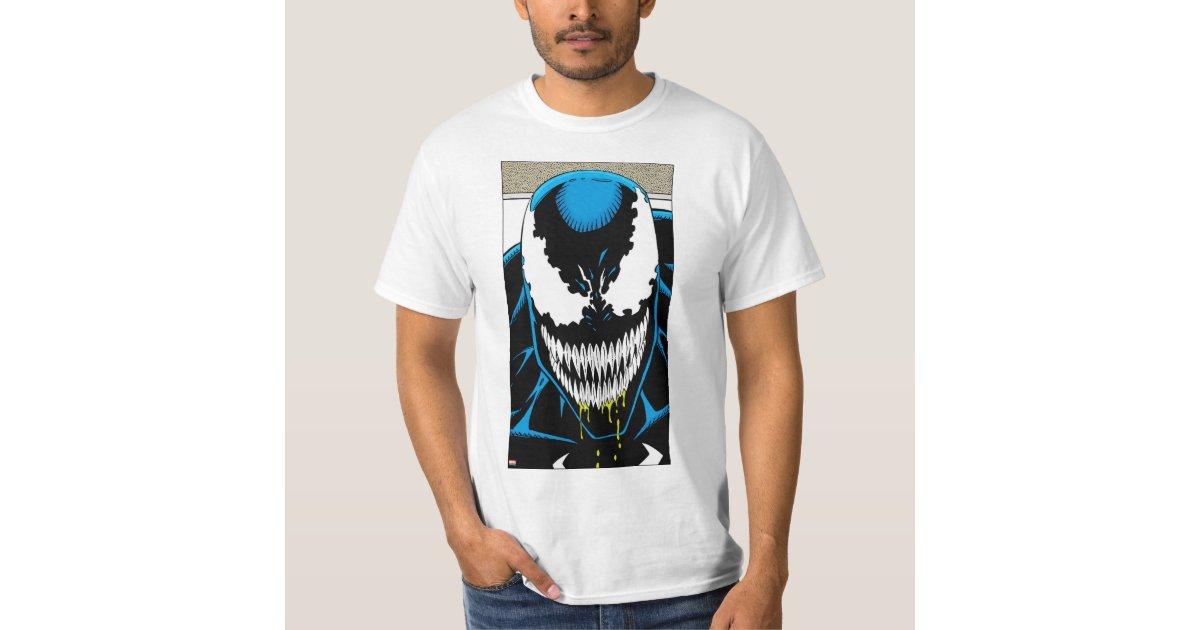 Venom Grin Vector: Venom Drooling Grin T-Shirt