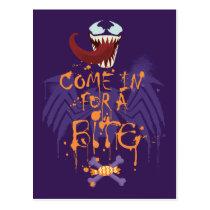 Venom Halloween Trap Postcard