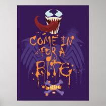 Venom Halloween Trap Poster