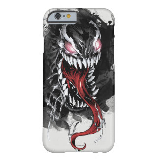 Venom Head Watercolor Graphic Barely There iPhone 6 Case