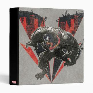 Venom Ink And Grunge Binder