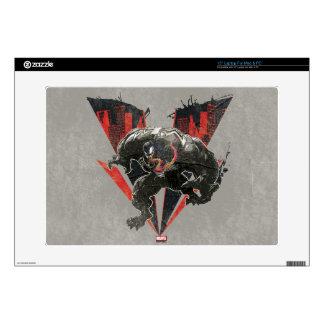 Venom Ink And Grunge Laptop Decal