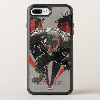 Venom Ink And Grunge OtterBox Symmetry iPhone 8 Plus/7 Plus Case