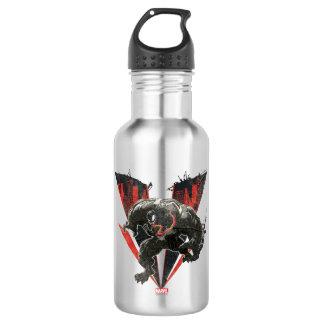 Venom Ink And Grunge Water Bottle