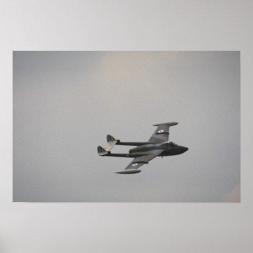 Venom, RAF, fighter Print