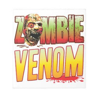 Venom Zombie Head Memo Pads